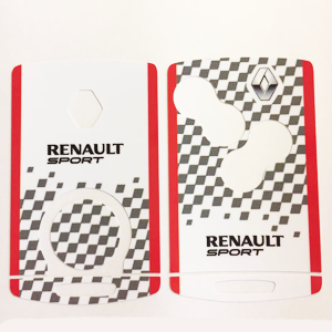 Renault sport 02 Blanche-Rouge