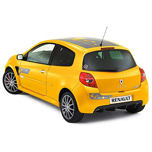 Clio 3 RS F1 team + Toit