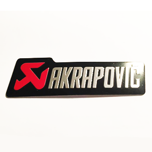 Badge Aluminium Akrapovic