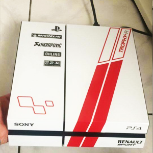 PS4 Trophy Blanche